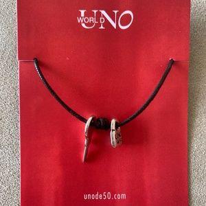 NEW! UNO de 50 Unisex Adjustable Bracelet.